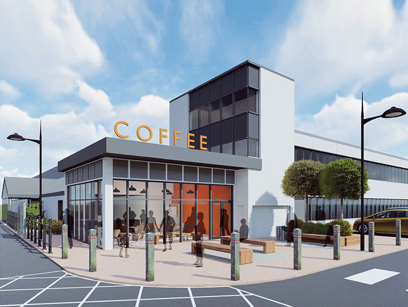 Photo of Coffee Shop To Let at Fareham Reach Business Park